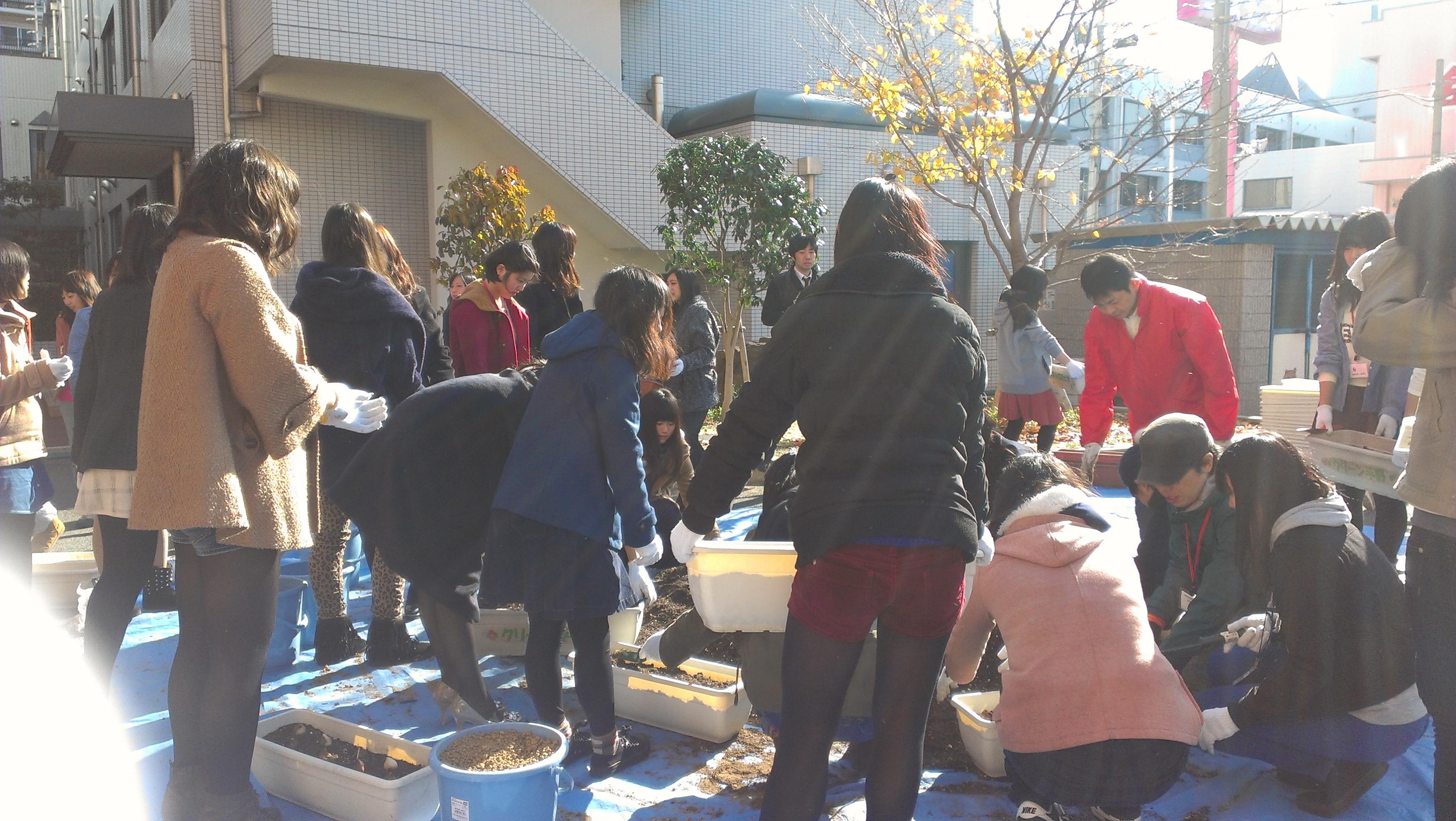 常磐会の歩き方の学生スタッフとして参加しました!