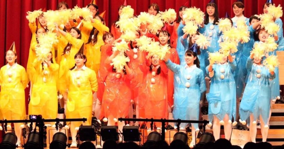 学生最後の合唱祭♪