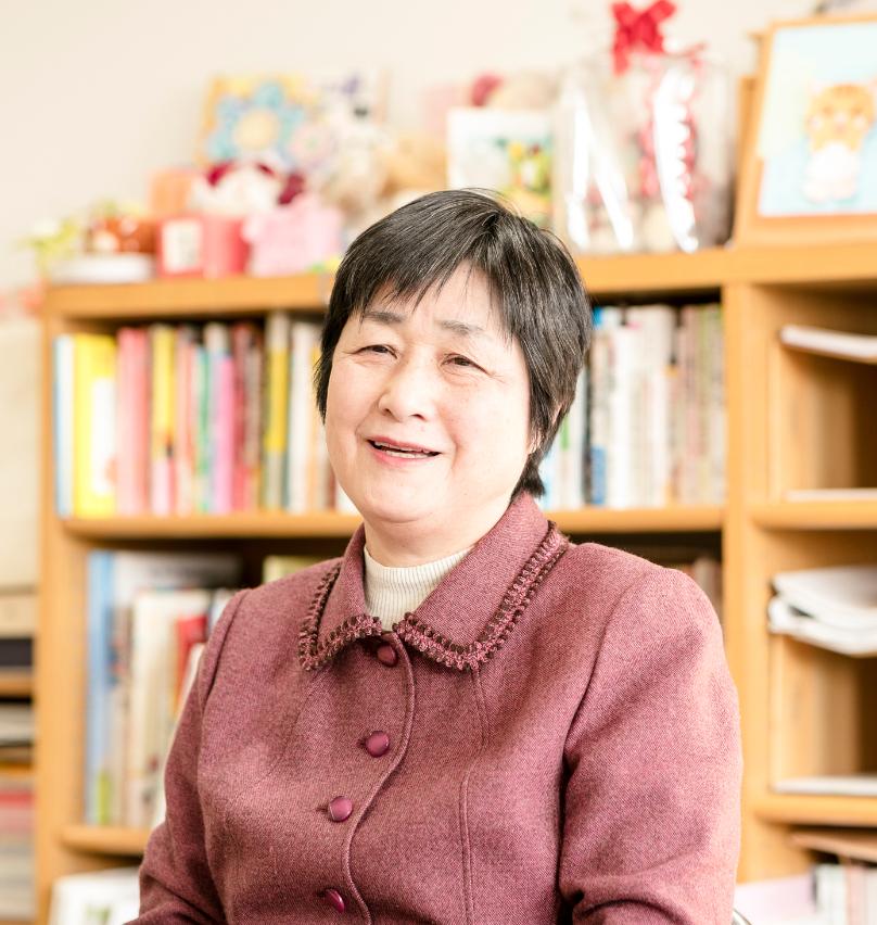 常磐会短期大学 幼児教育科 就職部長 堀 千代